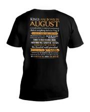 KING BORN US-8 V-Neck T-Shirt thumbnail
