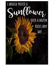 I PREFER SUN FLOWER-GOOD GIRL Vertical Poster tile