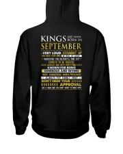 TTRUE-KING-9 Hooded Sweatshirt back