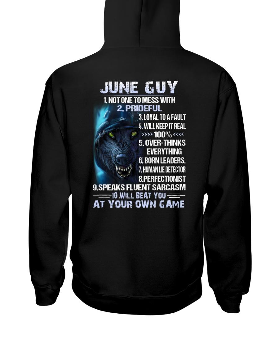 THINGS GUY-6 Hooded Sweatshirt