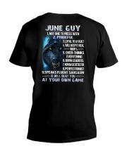 THINGS GUY-6 V-Neck T-Shirt thumbnail
