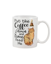 CATS NEVER HURT ME Mug thumbnail