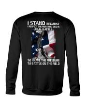 VET- I STAND Crewneck Sweatshirt thumbnail