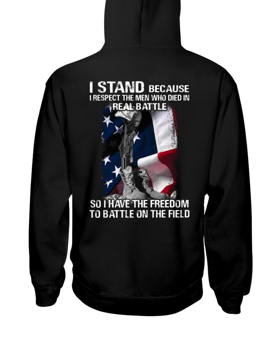 VET- I STAND Hooded Sweatshirt