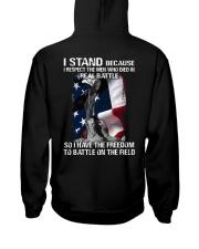 VET- I STAND Hooded Sweatshirt back
