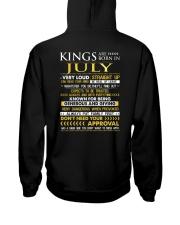 TTRUE-KING-7 Hooded Sweatshirt back