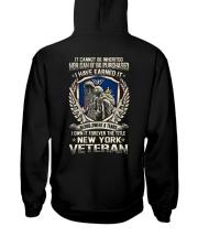 NEW YORK Hooded Sweatshirt back