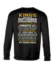 KING BORN IN-SEPTEMBER Crewneck Sweatshirt thumbnail