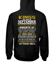 KING BORN IN-SEPTEMBER Hooded Sweatshirt back
