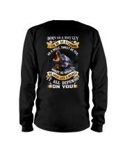 US-GUY-BORN-AS-5 Long Sleeve Tee thumbnail