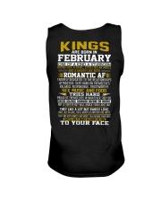 KING BORN IN-FEBRUARY Unisex Tank thumbnail