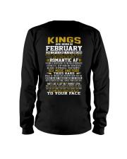 KING BORN IN-FEBRUARY Long Sleeve Tee thumbnail