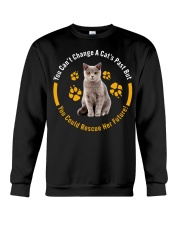 change cat past Crewneck Sweatshirt thumbnail
