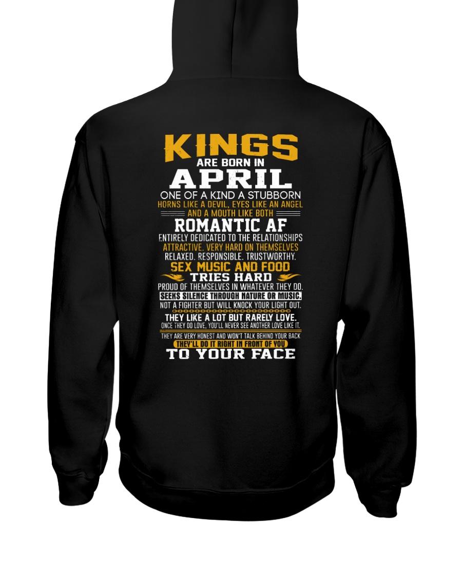 US-KING BORN-4 Hooded Sweatshirt