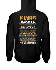 US-KING BORN-4 Hooded Sweatshirt back