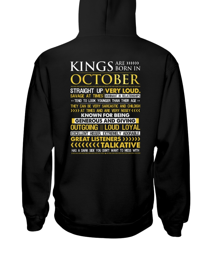 US-ROYAL-BORN-KING-10 Hooded Sweatshirt