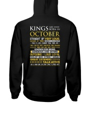 US-ROYAL-BORN-KING-10 Hooded Sweatshirt back