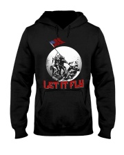 LET IT FLY Hooded Sweatshirt front