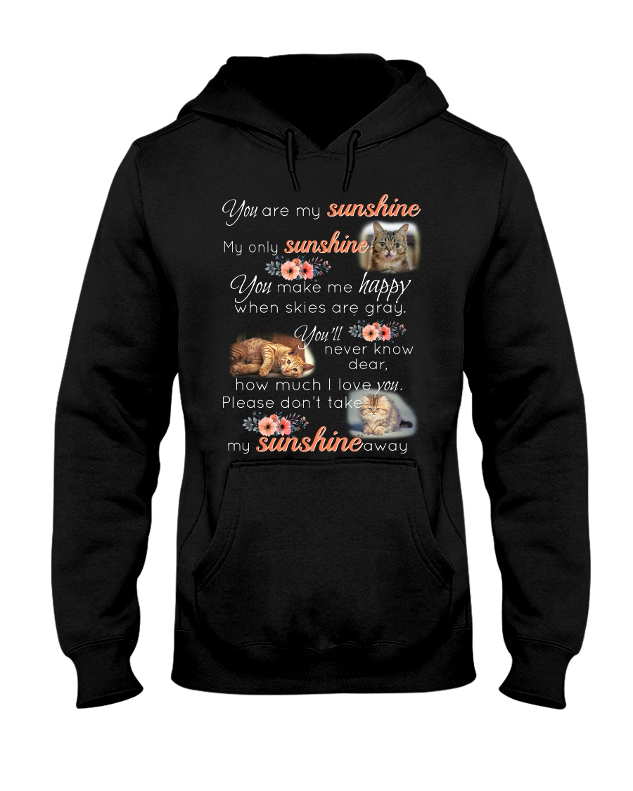 MY SUNSHINE-CAT Hooded Sweatshirt