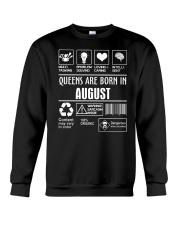 Queens fact-8 Crewneck Sweatshirt thumbnail