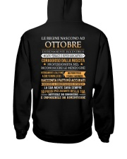 ITALIAN-QUEENS-BORN-10 Hooded Sweatshirt back