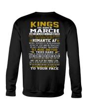 KING BORN IN-MARCH Crewneck Sweatshirt thumbnail