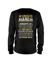 KING BORN IN-MARCH Long Sleeve Tee thumbnail