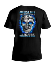 GUY-3THINGS-8 V-Neck T-Shirt thumbnail