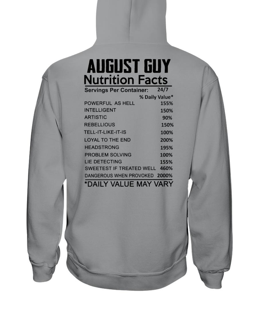 W-GUY FACT US-8 Hooded Sweatshirt