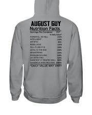W-GUY FACT US-8 Hooded Sweatshirt back