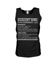 GIRL ACTIVE-8 Unisex Tank thumbnail