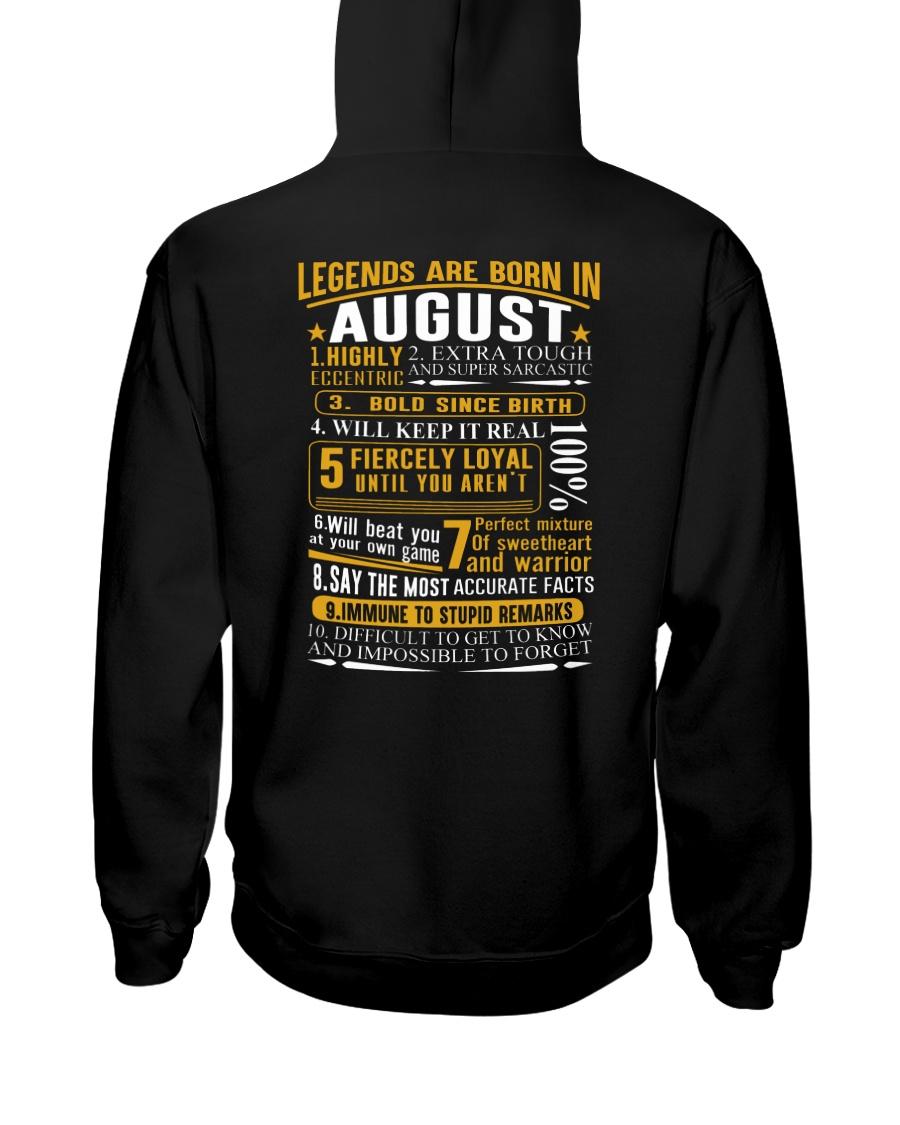 LEGENDS BORN-GUY-8 Hooded Sweatshirt