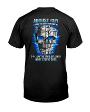 GUY-ABOUT-8 Classic T-Shirt back