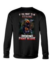 FIGHT-ALONE-2 Crewneck Sweatshirt thumbnail
