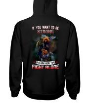 FIGHT-ALONE-2 Hooded Sweatshirt back