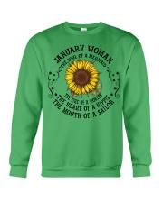 HIPPIE-WOMAN-1 Crewneck Sweatshirt thumbnail