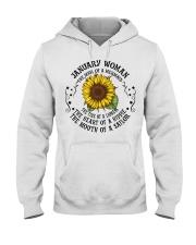 HIPPIE-WOMAN-1 Hooded Sweatshirt front