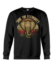 SAVE THE-ELEPHANT Crewneck Sweatshirt thumbnail