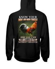 ROOSTER-FIGHTBATTLE Hooded Sweatshirt back