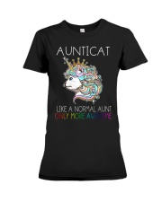 AUNTICAT Premium Fit Ladies Tee thumbnail