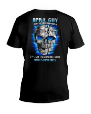 GUY-ABOUT-4 V-Neck T-Shirt thumbnail