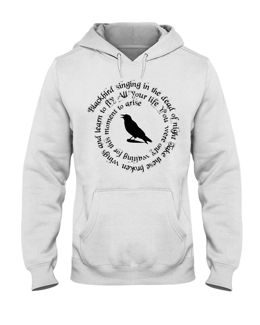 BLACK-BIRD Hooded Sweatshirt