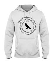 BLACK-BIRD Hooded Sweatshirt front
