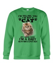 I AM BABY CAT Crewneck Sweatshirt thumbnail