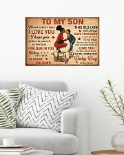 To my son 2 24x16 Poster poster-landscape-24x16-lifestyle-01
