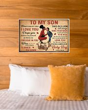 To my son 2 24x16 Poster poster-landscape-24x16-lifestyle-27