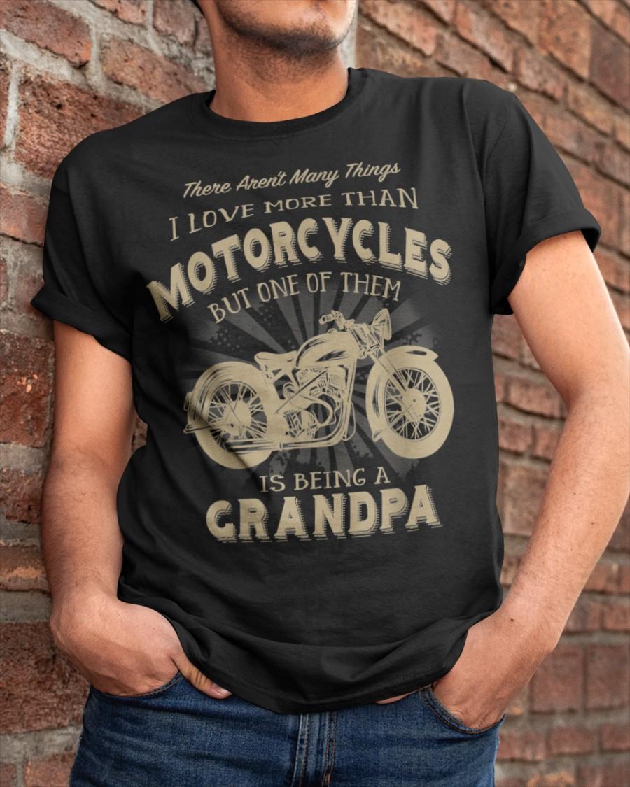 MOTORCYCLE,GRANDAD,FUNNY T-SHIRT