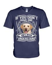 Labrador Lover V-Neck T-Shirt thumbnail