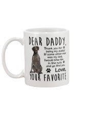 German Shorthaired Pointer Dad Mug back