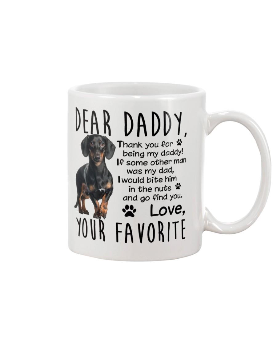 Daschund Dad Mug